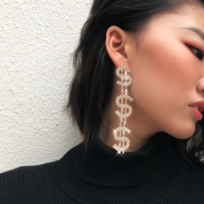 DOLLARS EARRINGS