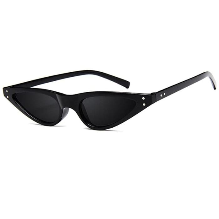 GEOMETRIC SUNGLASSES - Black