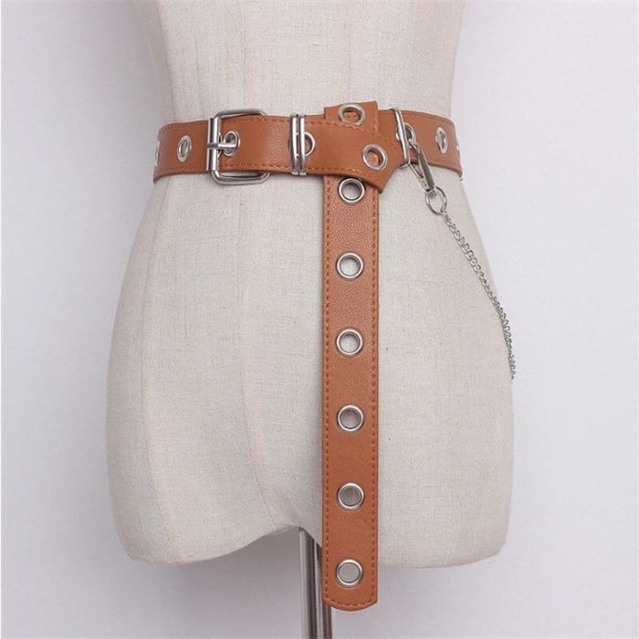 PUNK BELT - Brown