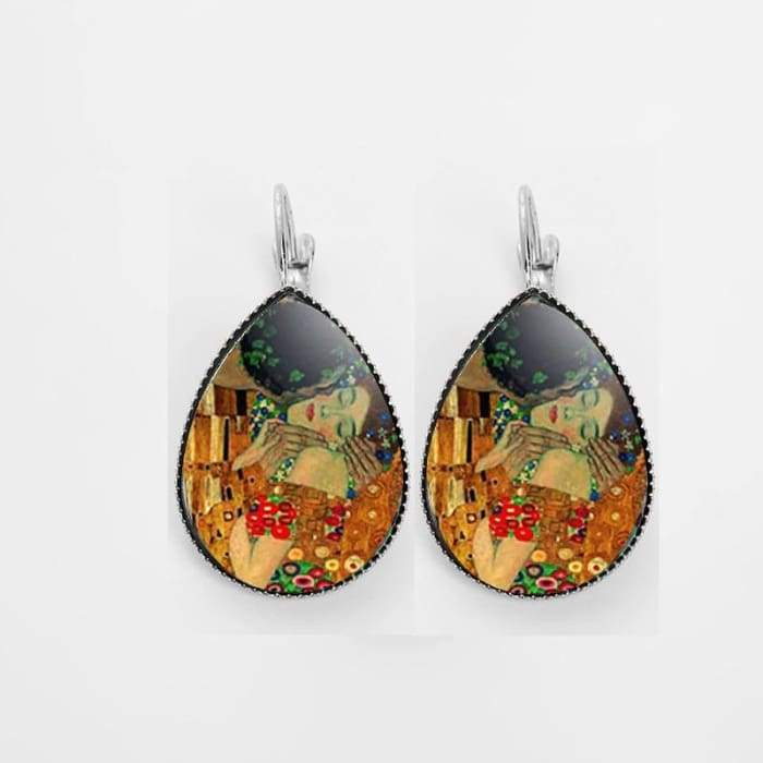 VAN GOGH EARRINGS - Silver