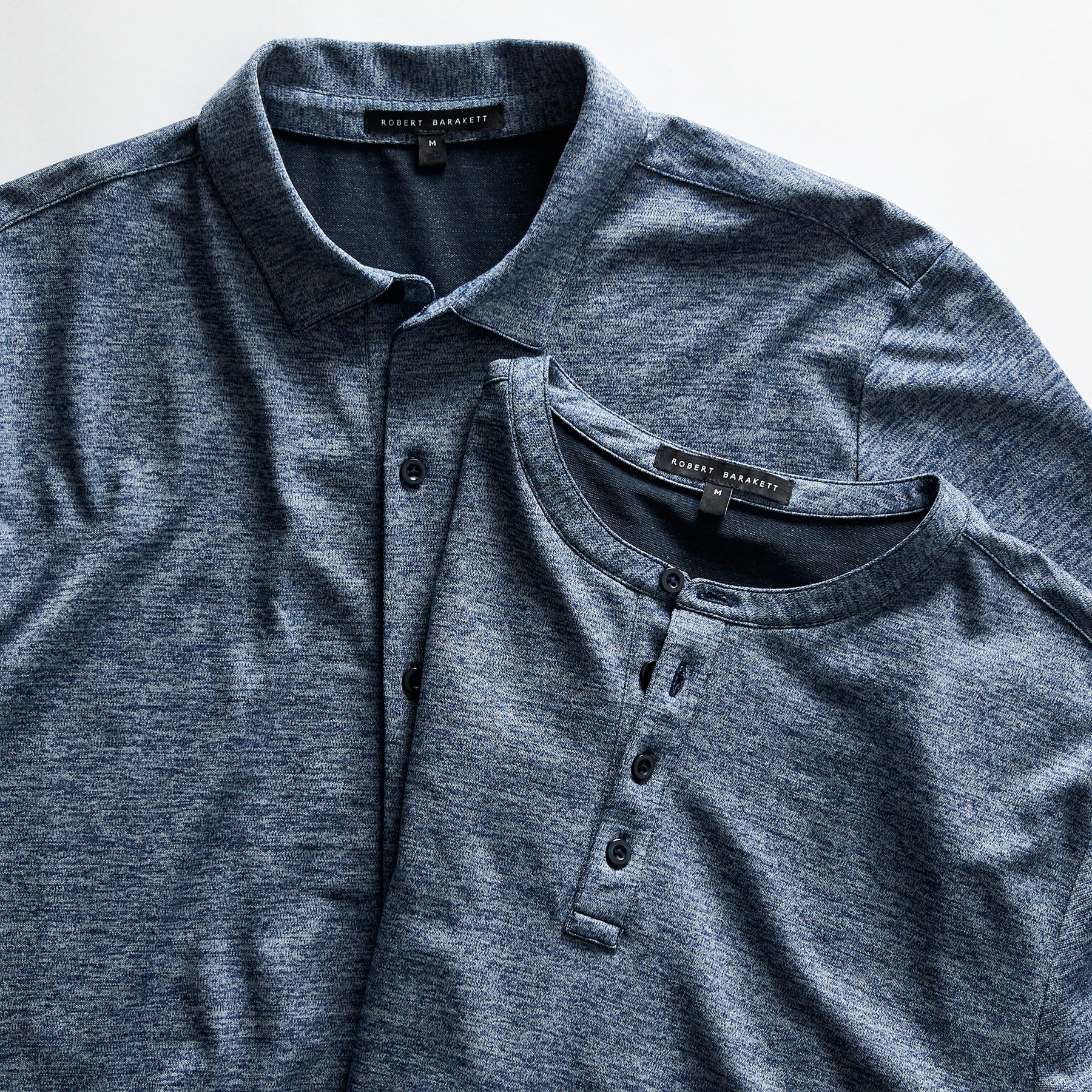 Gilbert Henley/Knit Shirt