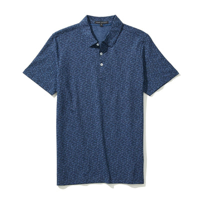 COLLINS  POLO - Navy