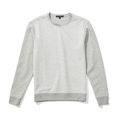 DOWNTON CREW NECK - Light grey
