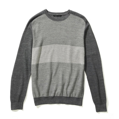 LAKESHORE CREW SWEATER - Grey