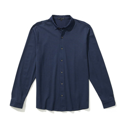 SENECA KNIT SHIRT - Navy