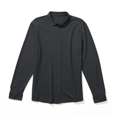 VERONA KNIT SHIRT - Gun metal