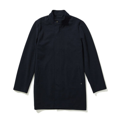 MERCER LONG JACKET - Navy
