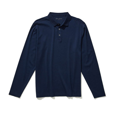 THE BARAKETT POLO - Blue night