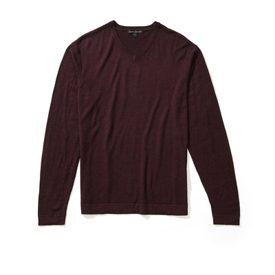 NEWBURY V-NECK - Port