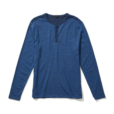 FLATROCK HENLEY - Blue night