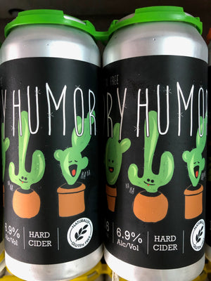 Dry Humor Cider-Dry and Gluten Free
