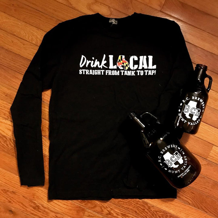 Drink Local Long Sleeve Tee