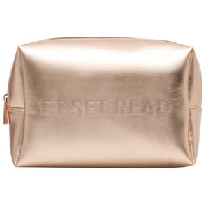 My Tag Alongs Jet Set Ready Cosmetic Bag | Gold