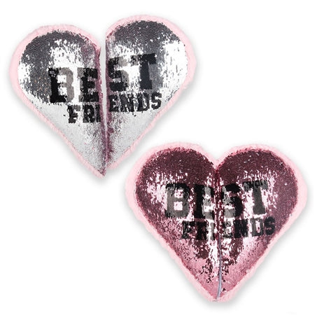 Top Trenz Best Friend Reversible Sequin Pillow