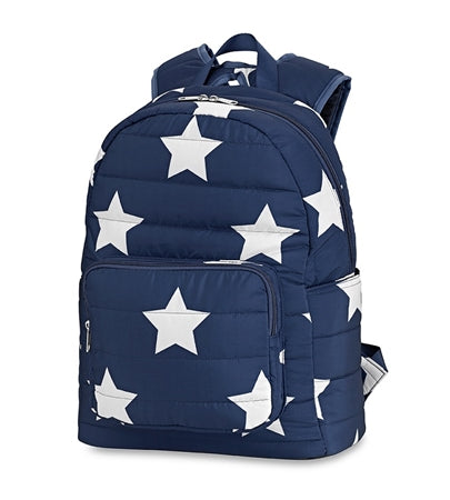 Top Trenz Puffer Navy Star Backpack