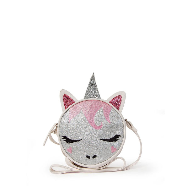 OMG! Accessories Glitter Unicorn Crossbody