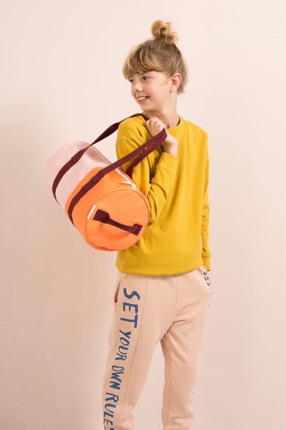 Sticky Lemon Vertical Duffel Bag | Blossom Pink