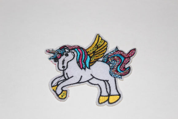 Bari Lynn flying unicorn patch