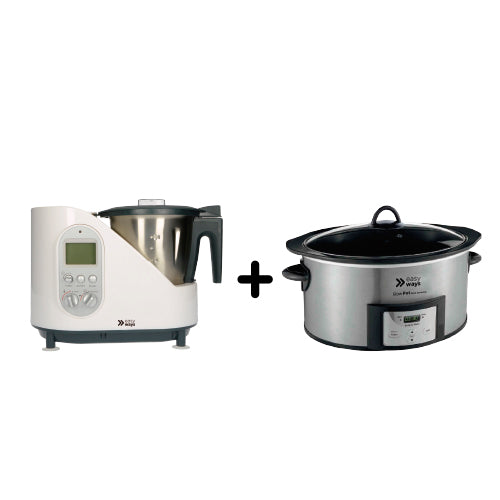Combo Kitchen Master más Slow Pot Dura Ceramic
