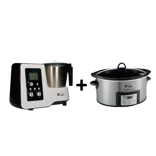 Combo Kitchen Pro más Slow Pot Dura Ceramic