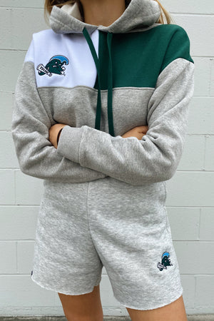 Load image into Gallery viewer, Tulane Color-Block Hoodie