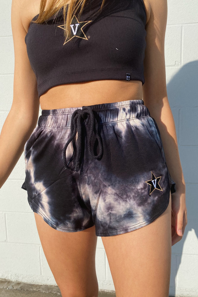 Load image into Gallery viewer, MTO Vanderbilt Tie Dye Dreams Shorts