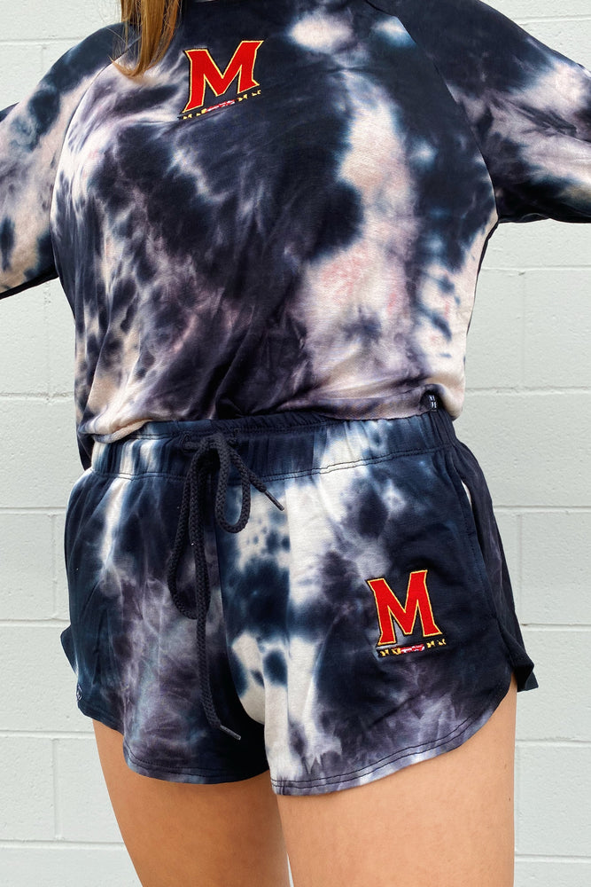 Load image into Gallery viewer, MTO Maryland Tie Dye Dreams Shorts