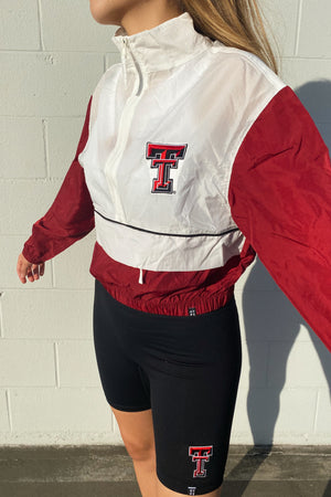 Load image into Gallery viewer, Texas Tech Vintage Track Jacket