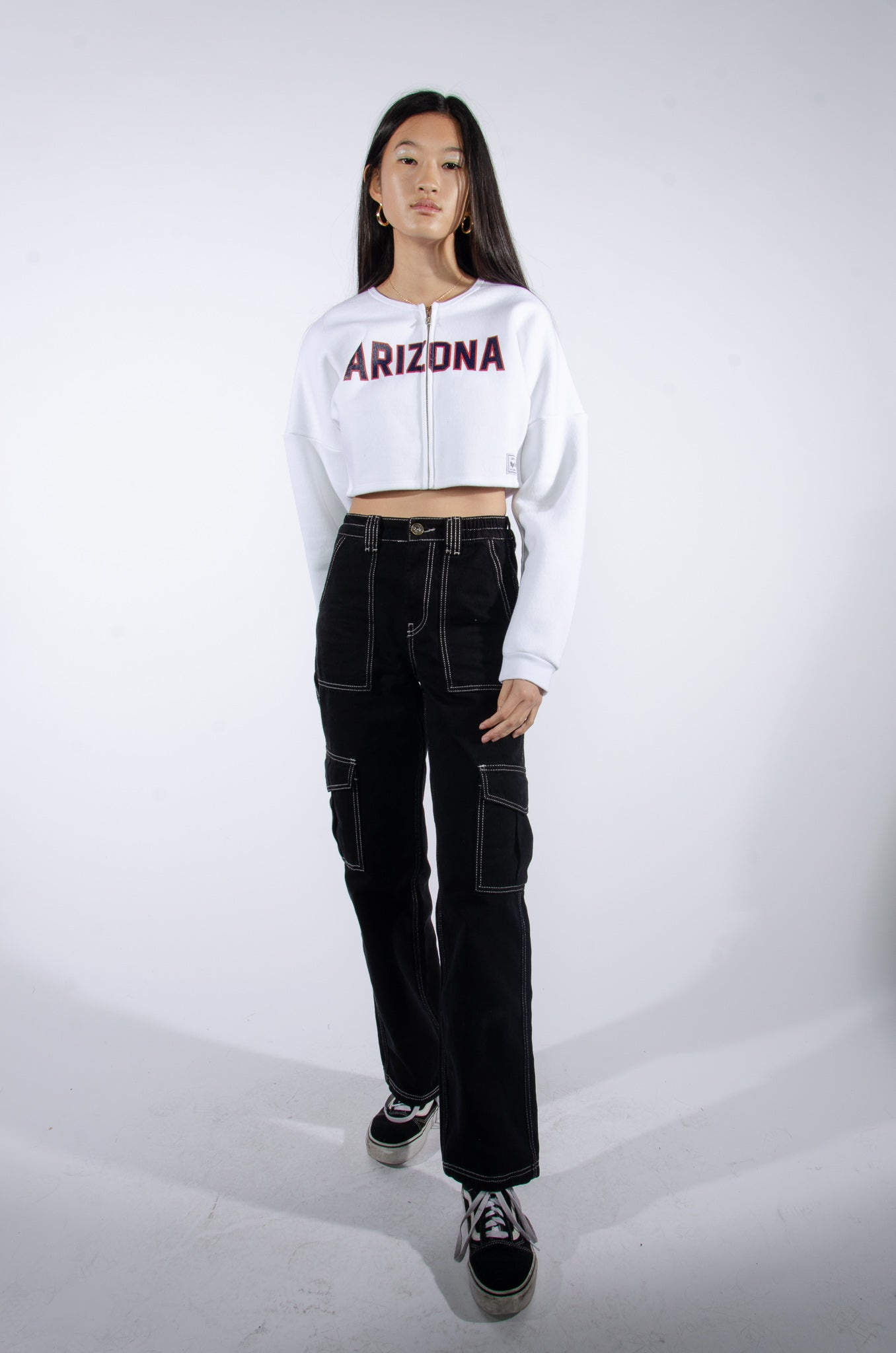 Arizona Cropped Zip-Up - Hype and Vice