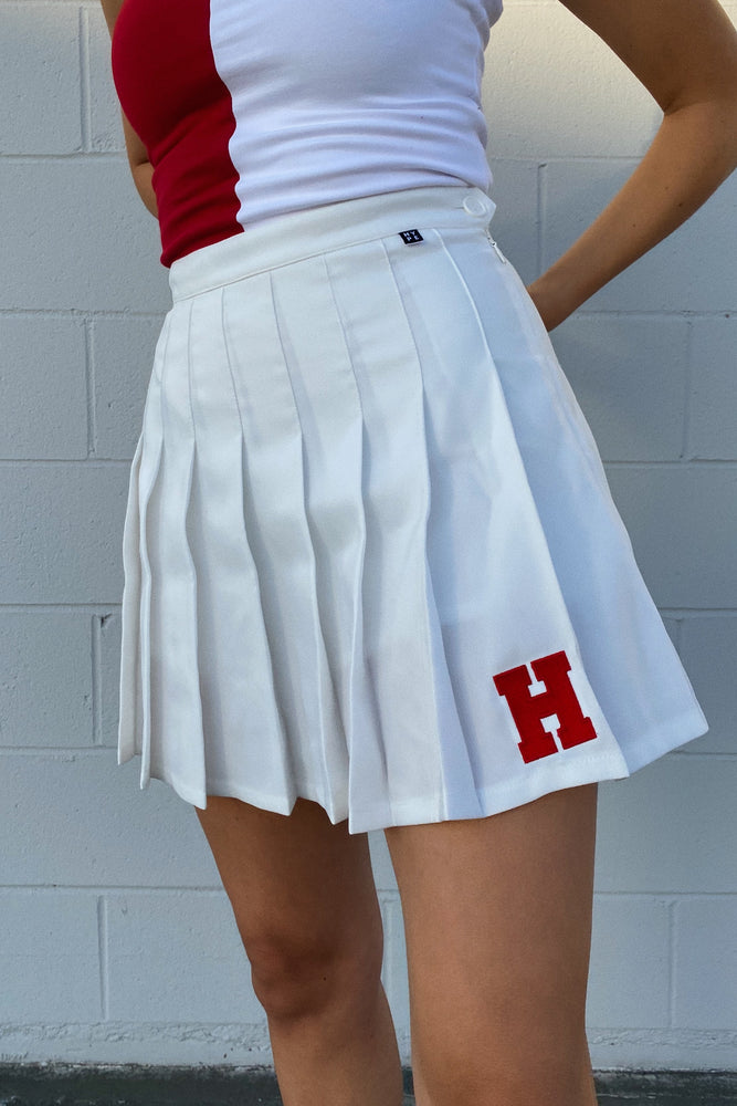 Load image into Gallery viewer, MTO Harvard Tennis Skirt