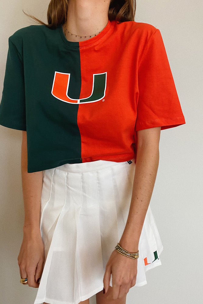 Load image into Gallery viewer, Miami Hurricanes Brandy Tee
