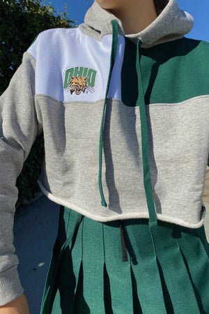 Load image into Gallery viewer, Ohio University Color-Block Hoodie