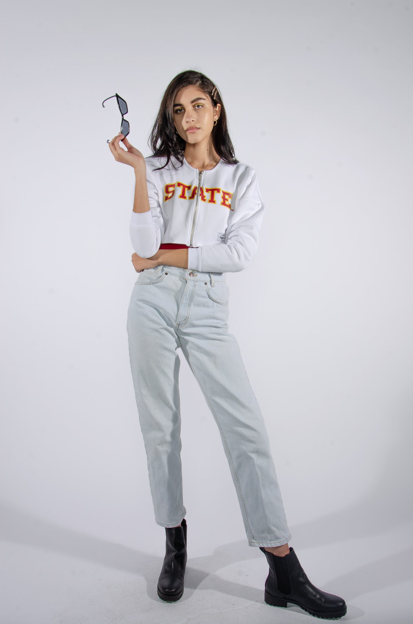 ISU Cropped Zip-Up - Hype and Vice