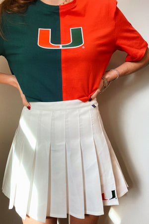 Load image into Gallery viewer, MTO Miami Tennis Skirt