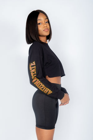 ASU Cropped Long Sleeve - Hype and Vice