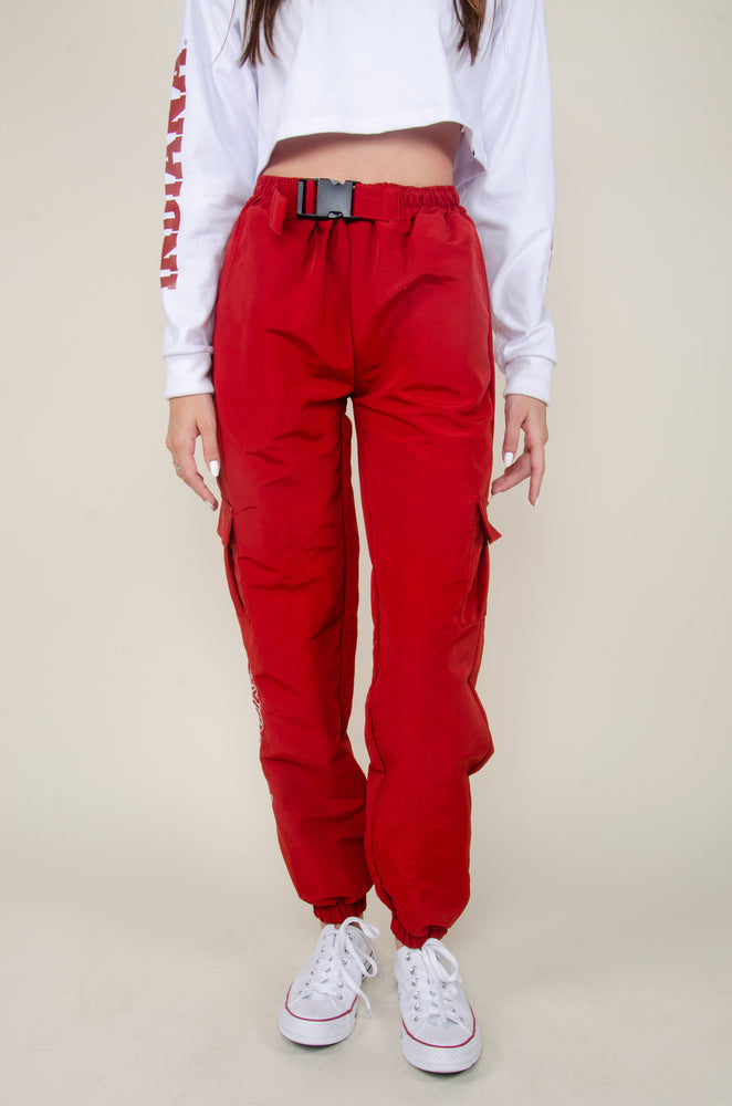 Load image into Gallery viewer, Indiana Cardinal Cargo Pants