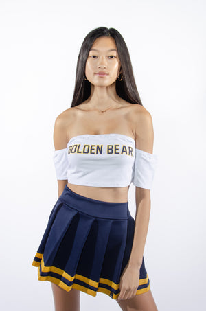 Golden Bear Off-Shoulder Top - Hype and Vice