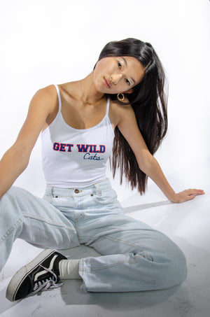 """Get Wild Cats"" Arizona Gameday Bodysuit - Hype and Vice"