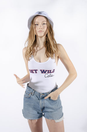 Get Wild Cats Racerback Bodysuit - Hype and Vice