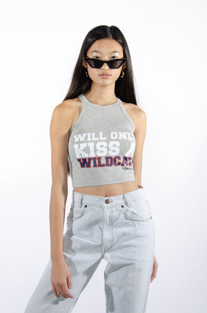 Will Only Kiss a Wildcat Top - Hype and Vice