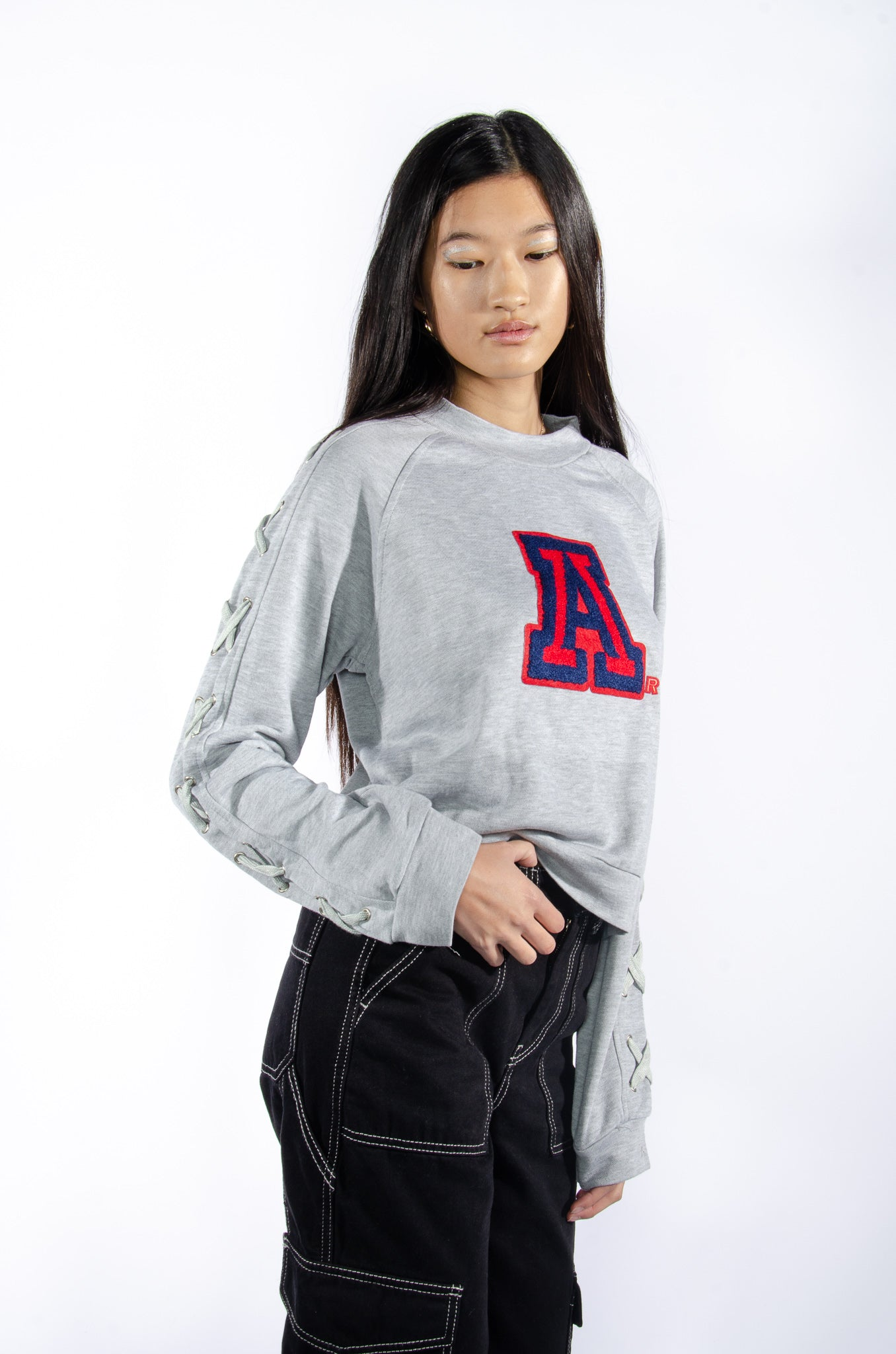 University of Arizona Lace-Up Sweatshirt - Hype and Vice