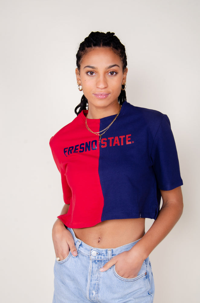 Load image into Gallery viewer, Fresno State Brandy Tee