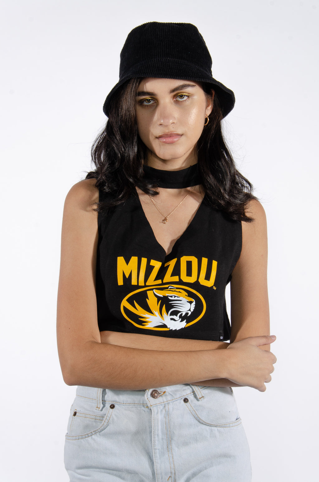 Mizzou Cutout Top