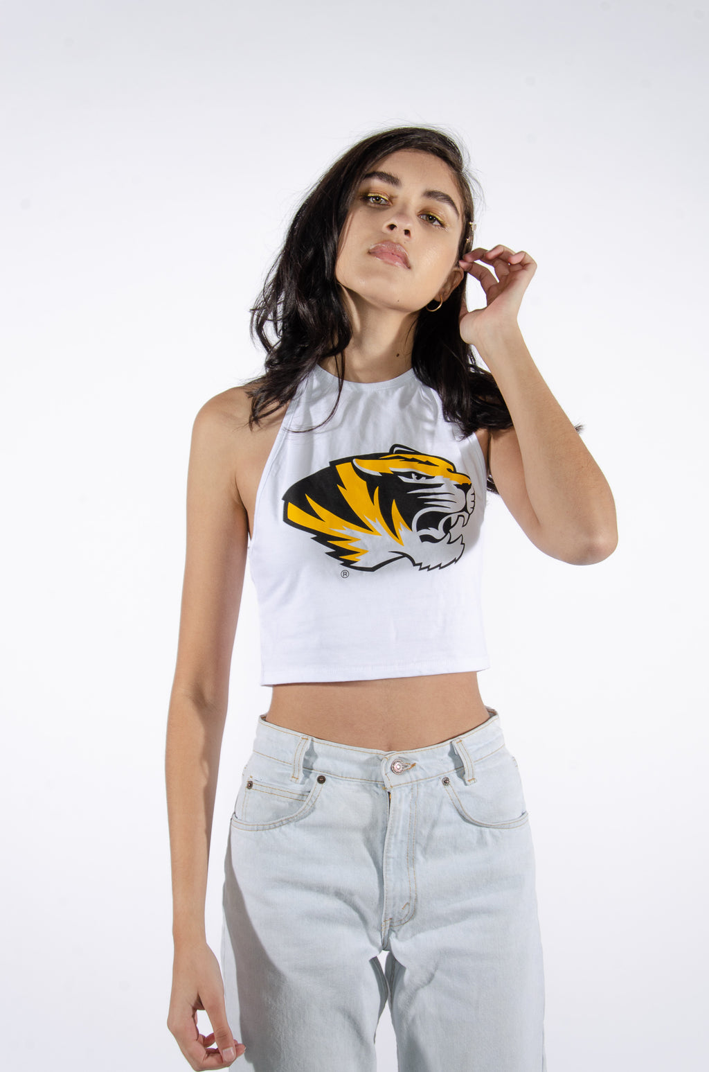 Mizzou Halter Top