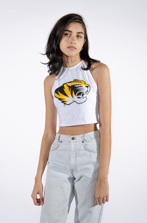 Load image into Gallery viewer, Mizzou Halter Top - Hype and Vice
