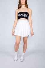 White Tennis Skirt - Hype and Vice
