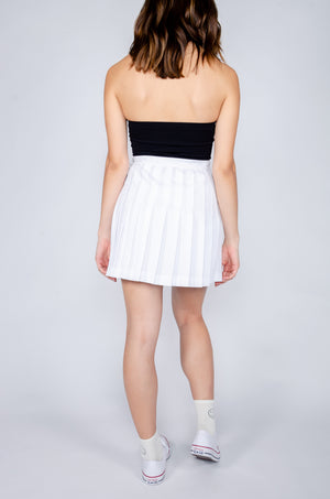 Load image into Gallery viewer, White Tennis Skirt - Hype and Vice