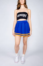Royal and Orange Cheerleader Skirt - Hype and Vice