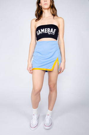 Load image into Gallery viewer, Blue and Gold Football Skirt - Hype and Vice