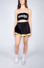 Black and Gold Tailgate Skirt - Hype and Vice